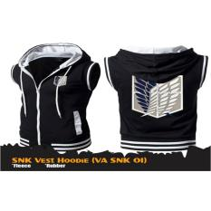 Digizone Jaket Anime Hoodie Zipper Rompi SNK Attack on Titan (VA SNK 01) Best