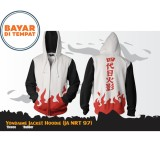 Review Digizone Jaket Anime Hoodie Zipper Yondaime Naruto Ja Nrt 97 White Digizone Di Jawa Barat