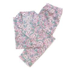 Dijual Piyama Mewah Sugar Tip Rose Cotton Baju Tidur Wanita Cewek PK59 Limited