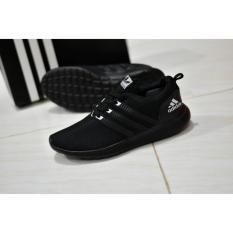 Beli Diskon Sepatu Adds Full Black Hitam Sepatu Sport Running Sepatu Sekolah Sepatu Santai Kredit