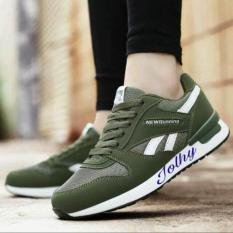 Diskon sepatu santai / Sepatu jogging murah / Sepatu keren hijau