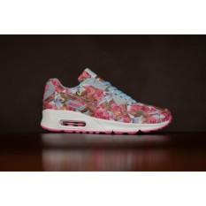Diskon Sepatu Sport Nk Airmax Pink Premium / Sepatu Wanita Motif bunga / Sepatu keren
