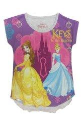 Jual Disney Original Cotton Feel Princess Purple Di Bawah Harga