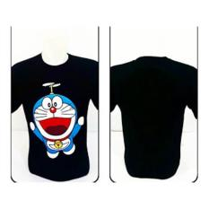 Disro Collection - kaos Disro T-SHIRT Doraemon 100% Spandex Rayon All Size Kaos Hitam, Biru Dongker Bisa Dipake Pria Dan Wanita T-SHIRT Disro collection