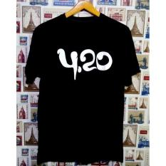 Disro Collection - Kaos Distro T-Shirt Distro Fashion 100{55e037da9a70d2f692182bf73e9ad7c46940d20c7297ef2687c837f7bdb7b002} Soft Cotton Combed 30s Kaos Pria Kaos Fashion Baju Distro T - Shirt Gambar 4:20 Kartun Marvel Sablon Plastisol Atasan Pria Wanita Katun Simple Keren Cowo Cewe Pakaian Distro