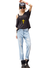 Toko Tertekan Tinggi Ikat Pants Jeans Cowok Internasional Internasional Oem Tiongkok
