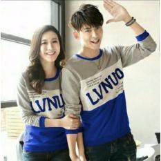 Distributor Baju Couple Online - Sweater Kapel Murah - Capel / Pasangan / Kembaran Lp LVNUO Benhur