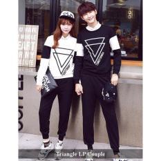 distributor  couple online - baju couple murah - Baju Couple Triangle LP