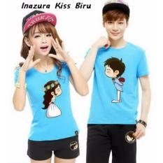 Distributor Couple Online - Baju Couple Murah - Inazura Kis Biru