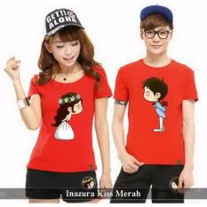 Distributor Couple Online - Baju Couple Murah - Inazura Kis Merah