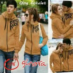 Distributor Jaket Couple - Jaket Couple Online - Jaket Qing Cokelat