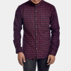Dimana Beli Distro 65 Kemeja Branded Kasual Pria Flanel Slim Fit Full Cotton Stylish Distro