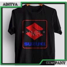 DISTRO BANDUNG Kaos Tshirt Gildan Sablon Polyflex Custom Suzuki Logo Best Produk