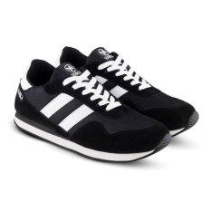 Distro Bandung VR 354 Sepatu Sneaker Olahraga Lari dan Joging Pria - Hitam