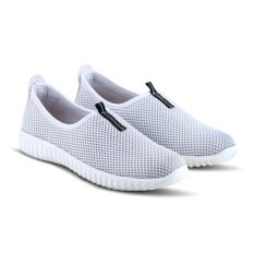 Jual Sepatu Vr 383 Sepatu Sneaker Slip On Dan Casual Wanita Putih Varka Original