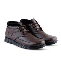 Sepatu VR 385 Sepatu Formal Boot Pria Untuk Kerja Kantor - Coklat