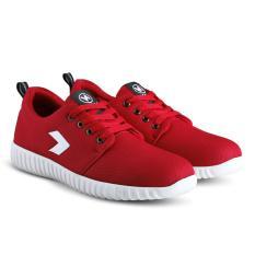 Sepatu VR 408 Sepatu Kets Sneakers dan Kasual Pria - Merah