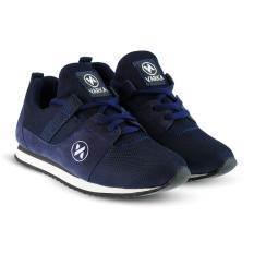 Distro Bandung VR 417 Sepatu Sneakers Kets dan Kasual Anak bisa untuk olahraga sekolah Jalan - Navy