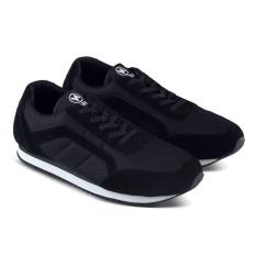 Sepatu DB 476 Sepatu Sneakers Kasual Pria utk jalan, santai, olahraga lari joging, kuliah, sekolah, kerja - Hitam