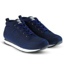 Distro DS 439 Sepatu Sneakers Anak Laki Perempuan untuk sekolah, jalan, santai, olahraga, joging - Navy