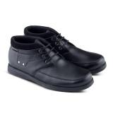 Toko Distro Ds 488 Sepatu Boot Formal Pantofel Pria Untuk Kerja Dan Kantor Kulit Sintetis Hitam Lengkap Di Jawa Barat