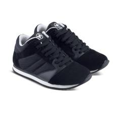 Distro DS 492 Sepatu Boot Sneakers Kets dan Kasual Anak bisa untuk Sekolah dan Olahraga - Hitam