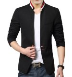 Promo Distro Fashion Jas Pria Collar Shanghai Casual Modern Dfn 39 Hitam Distro Fashion Terbaru