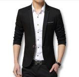Distro Fashion Jas Pria Formal Style Hitam Distro Fashion Diskon 30
