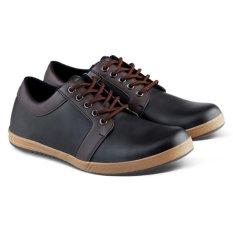 Harga Distro Vd 060 Sepatu Kets Semi Formal Dan Kasual Pria Hitam Murah