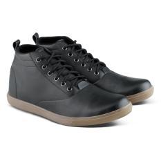 Toko Distro Vd 061 Sepatu Boots Sneakers Dan Kasual Pria Hitam Online