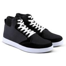 Pusat Jual Beli Distro Vd 105 Sepatu Boots Sneakers Dan Kasual Pria Hitam Jawa Barat