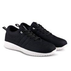 Obral Distro Vd 339 Sepatu Sneakers Kets Dan Kasual Wanita Hitam Murah