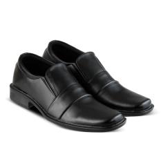 Sepatu VDB 457 Sepatu formal Pantofel dan Kasual Pria utk kantor, kuliah, kerja, sekolah - Hitam