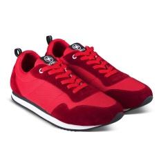sepatu VDB 473 Sepatu Sneakers Kets dan Kasual Anak Laki Perempuan bisa untuk Sekolah dan Olahraga - Merah