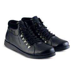 Sepatu VS 451 Sepatu Formal Boots Pantofel Pria Untuk Kerja dan Kantor Kulit Sintetis - Hitam
