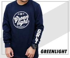 Distro/Kaos/Baju/Longsleeve/GREENLIGHT GRLT LEFT HAND
