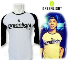 Distro/Kaos/Baju/Raglan/GREENLIGHT EST 1996