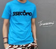 Distro/Kaos/Baju/T-Shirt/3 SECOND FLOCKING SERIES