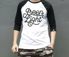 Distro/Kaos/Baju/T-Shirt3per4/Green Light Ariel EDITION