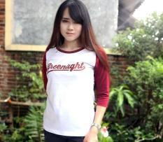 Distro/Kaos/Baju/T-Shirt3per4/New RED GREENLIGHT Reglan