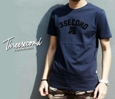 Distro/Kaos/Baju/T-Shirt/3SECOND FLOCKING SERIES