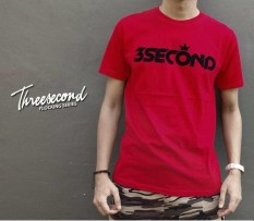 Jual Distro Kaos Baju T Shirt 3Second Flocking Series Greenlight Antik