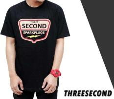 Distro/Kaos/Baju/T-Shirt/3SECOND SPARKLUGS