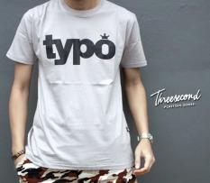 Distro/Kaos/Baju/T-Shirt/3SECOND Typo