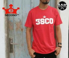 Distro/Kaos/Baju/T-Shirt/BRAND 3SECOND 3SCO