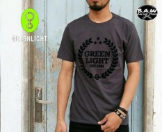 Distro/Kaos/Baju/T-Shirt/EST 1996 GREENLIGHT