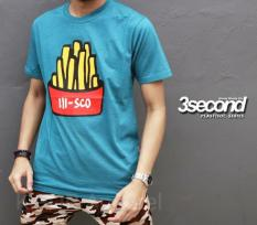 Distro/Kaos/Baju/T-Shirt/Freed Frice 3SECOND IIISCO