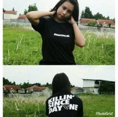 Distro/Kaos/Baju/T-Shirt/FRIDAY KILLER DEPAN BELAKANG ed 4