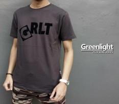 Distro/Kaos/Baju/T-Shirt/G-GREENLIGHT FLOCKING