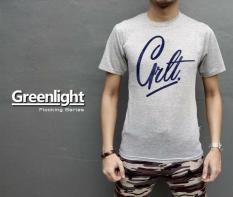 Distro/Kaos/Baju/T-Shirt/GREENLIGHT Floking Series